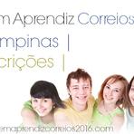 Vagas - JOVEM APRENDIZ CORREIOS 2016 CAMPINAS- INSCRIÇÕES, EDITAL, LISTA