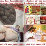 Páscoa da Grande Prostituta X Páscoa da Noiva de Jesus