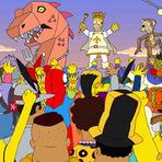Bloco dos Simpsons Carnaval 2016.