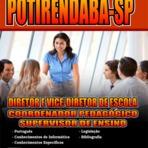 Prefeitura de Potirendaba - SP abre concurso e processo seletivo com 125 vagas