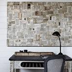 Arquitetura e decoração - DIY: Decoração de parede reutilizando materiais