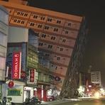Internacional - Terremoto de magnitude 6,4 no sul de Taiwan