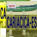 Livros - Apostila TMNMI - ENFERMAGEM - Concurso Prefeitura de Cariacica / ES 2016