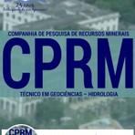 Livros - Apostila TÉCNICO EM GEOCIÊNCIAS - HIDROLOGIA - Concurso Companhia De Pesquisa De Recursos Minerais (CPRM) 2016