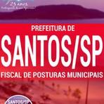 Livros - Apostila FISCAL DE POSTURAS MUNICIPAIS - Concurso Prefeitura de Santos / SP 2016