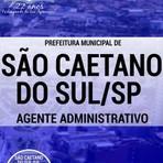 Apostila Completa ASSISTENTE ADMINISTRATIVO 2016 Concurso Prefeitura de São Caetano do Sul / SP