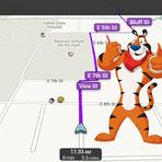 Opinião e Notícias - Waze ganha navegação com voz do tigre Tony, do Sucrilhos