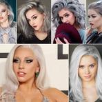 Moda & Beleza - Inspiração: Cabelo cinza