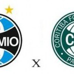 Futebol - Grêmio X Coritiba ao vivo esta tarde pela Sul-Minas-Rio
