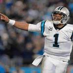 Esportes - Com enorme superioridade em números de votos, Cam Newton conquista o prêmio de MVP da NFL.