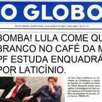 Política - Lula será enquadrado por crime de laticínio