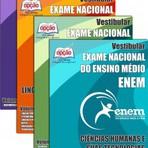 Apostila Impressa ou Digital - EXAME NACIONAL DE ENSINO MÉDIO - ENEM ( 4 Volumes )