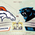 Broncos e Panthers lutam pelo Super Bowl 50