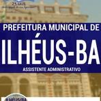 Livros - Apostila ASSISTENTE ADMINISTRATIVO - Concurso Prefeitura Municipal de Ilhéus / BA 2016