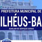 Livros - Apostila AUXILIAR DE SERVIÇOS GERAIS - Concurso Prefeitura Municipal de Ilhéus / BA 2016