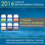 2016 - CURSO DE DEPARTAMENTO PESSOAL (atualizado)