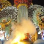 Entretenimento - SRZD: União da Ilha leva a cidade olímpica para a Sapucaí