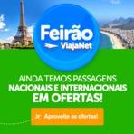 Mega Promoção ViajaNet | Passagens aéreas Promocionais