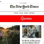 Internacional - New York Times lança site em espanhol