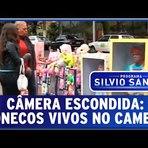 Humor - Câmera escondida: Bonecos vivos no camelô - Pegadinhas do Silvio Santos