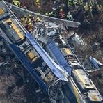 Internacional - Nove mortos, em acidente de trem na Baviera, Alemanha