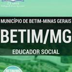 Livros - Apostila EDUCADOR SOCIAL - Concurso Município de Betim / MG 2016