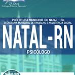 Livros - Apostila PSICÓLOGO - Concurso Prefeitura de Natal / RN 2016