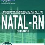 Livros - Apostila CUIDADOR - Concurso Prefeitura de Natal / RN 2016