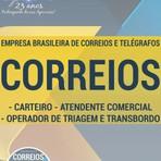 Apostila ATENDENTE COMERCIAL, CARTEIRO, OPERADOR DE TRIAGEM E TRANSBORDO - Concurso Correios 2016
