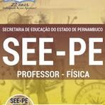 Apostila PROFESSOR - EDUCAÇÃO FÍSICA - Concurso Secretaria de Educação do Estado de Pernambuco (SEE/PE) 2016