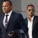 Por problemas com impostos, pai de Neymar quer tirar empresas do Brasil e levá-las à Espanha