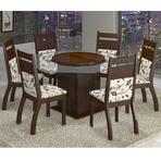 Diversos - Mesa de jantar com 6 cadeiras