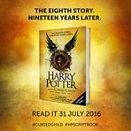 Anunciado o oitavo livro de Harry Potter