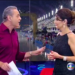 Tiago Leifert deixou Fátima e Luís Roberto irritados nas transmissões do carnaval da globo