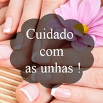 Myh Simas: Cuidado com as unhas.