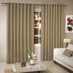 Arquitetura e decoração - Cortinas lindas e modernas de varão para sala