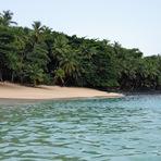 Turismo - Iha do Príncipe - 4º dia: praia Banana, uma joia de lava e areia dourada!