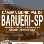Concursos Públicos - Apostila 2016 do Concurso Câmara Municipal de Barueri / SP  ASS. TÉCNICO ADMINISTRATIVO / ASS. ADMINISTRATIVO