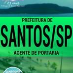 Concursos Públicos - Apostila Impressa e Digital Concurso Prefeitura de Santos / SP - AGENTE DE PORTARIA 2016